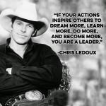 Chris LeDoux, The Dixie Chicks, Billy Dean