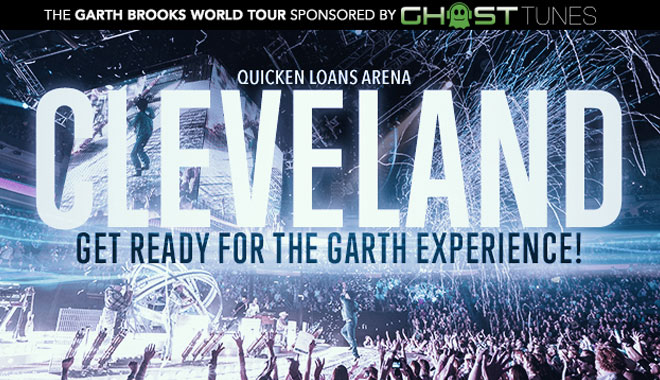 Garth Brooks – Cleveland, OH 10/9/15