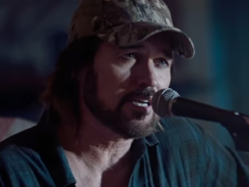 "Billy Ray Cyrus Releases New Video, ""Thin Line"""