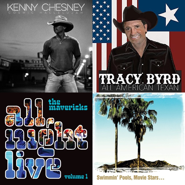 New Music: The Mavericks, Kenny Chesney, Tracy Byrd & More
