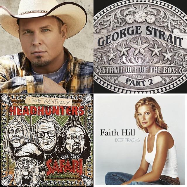 New Music: Garth Brooks, George Strait, Faith Hill, Kentucky Headhunters