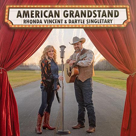 Daryle Singletary & Rhonda Vincent's American Grandstand Debuts At #1