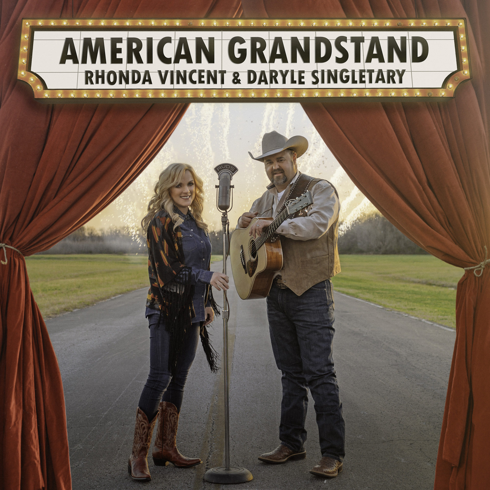 Daryle Singletary & Rhonda Vincent Team-Up For American Grandstand